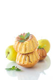 Sweet apple muffins Royalty Free Stock Photo