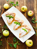 Sweet apple pie Royalty Free Stock Images