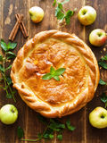 Sweet apple pie Royalty Free Stock Photography