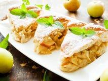 Sweet apple pie Royalty Free Stock Photo