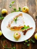 Sweet apple pie Stock Image