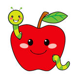 Sweet Apple Worm Stock Photos