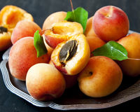 Sweet Apricots Royalty Free Stock Images