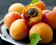 Sweet Apricots Royalty Free Stock Photos