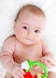 Sweet baby. Portrait of sweet little baby girl Stock Photography