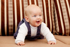 Sweet baby boy Royalty Free Stock Photo