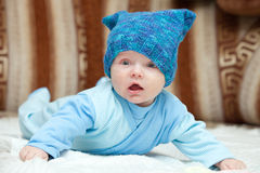 Sweet baby boy Stock Photography