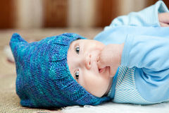 Sweet baby boy Stock Photo