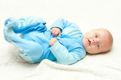Sweet baby boy Stock Photos