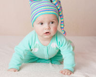 Sweet baby boy Royalty Free Stock Images