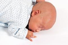 Sweet Baby Boy Sleeping Royalty Free Stock Photography