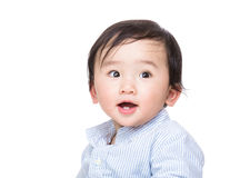 Sweet baby boy smile Stock Photos