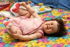 Sweet baby girl Stock Image