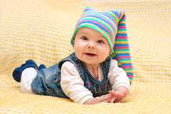 Sweet Baby Girl Royalty Free Stock Images
