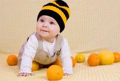 Sweet baby girl Royalty Free Stock Photo