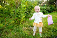 Sweet baby girl Royalty Free Stock Image
