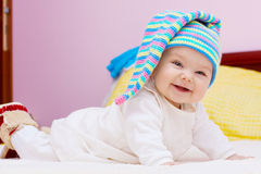 Sweet baby girl Stock Photos