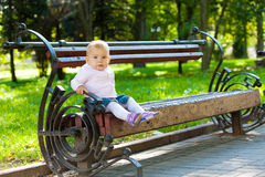 Sweet baby girl Royalty Free Stock Photos
