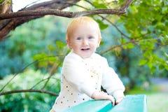 Sweet baby girl Stock Images