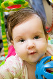 Sweet baby girl Royalty Free Stock Photo