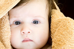 Sweet baby girl Stock Images