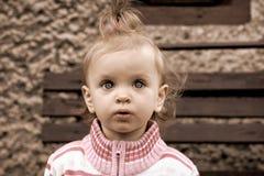 Sweet baby girl Stock Photo