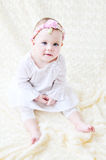 Sweet baby girl Royalty Free Stock Image