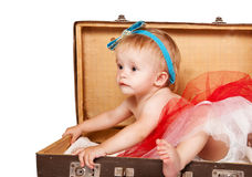 Sweet baby girl portrait Royalty Free Stock Image