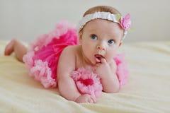 Sweet baby girl Stock Photos