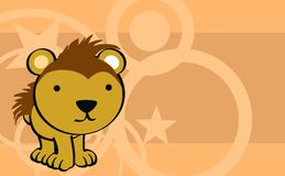 Sweet baby porcupine cartoon cute background Royalty Free Stock Images