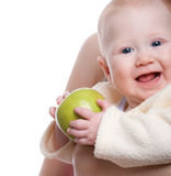 Sweet baby portrait Stock Photography