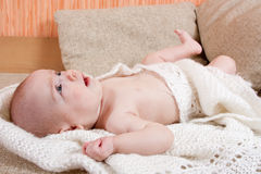 Sweet baby resting Royalty Free Stock Image