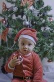 Sweet Baby Santa Royalty Free Stock Image