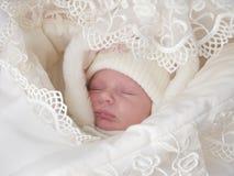 A sweet baby sleeping Stock Photos