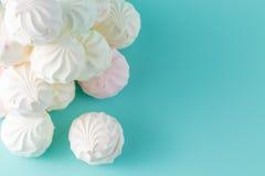 Sweet backgroun concept. Kids marshmallow on vibrant background Royalty Free Stock Photo