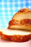 Sweet baked bread challah Royalty Free Stock Photos