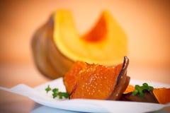 Sweet baked pumpkin Stock Photo