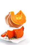 Sweet baked pumpkin Royalty Free Stock Image