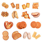 Sweet Bakery Collection Royalty Free Stock Photos