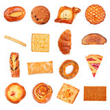 Sweet Bakery Collection Stock Photo