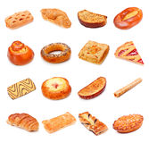 Sweet Bakery Collection Stock Photos