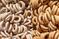 Sweet baking bagels Royalty Free Stock Photo