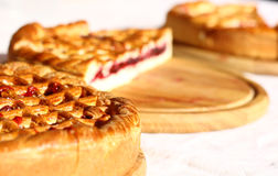 Sweet baking business bery pies Royalty Free Stock Image