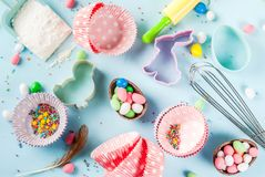 Sweet baking concept for Easter Royalty Free Stock Image