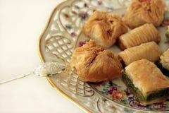 Sweet baklava Royalty Free Stock Photos