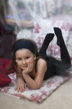 Sweet ballerina girl Royalty Free Stock Images