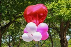 Sweet balloons Stock Image