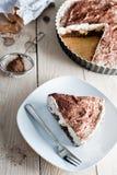 Sweet banana cake Stock Images
