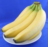 Sweet bananas. Fresh bananas for healthy people Royalty Free Stock Photography