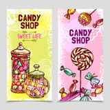 Sweet Banner Set Royalty Free Stock Image